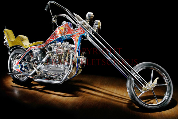 Evel Knievel Harley Auction: Twixt-Two&Four-Wheels